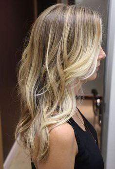 Long+Haircut+++Balayage+Highlights