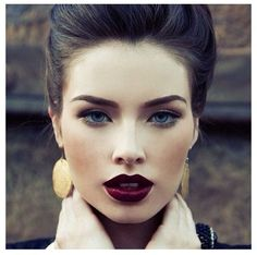 Fall 2013 makeup. #lips This lip is perfect for the fall