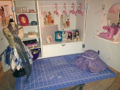 American Girl Style Isabelle's Sewing Studio DIY Free Tutorial Camis Craft Corner - Dolls   Crafts   Ideas   Projects