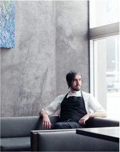 Chef portrait. Anais + Dax.