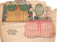 table skirts need to come back in style