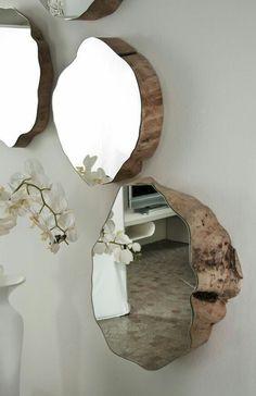 Зеркала на спилах / Ванная комната, туалет и зеркала / ВТОРАЯ УЛИЦА