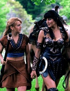 Xena: Warrior Princess: Xena and Gabrielle