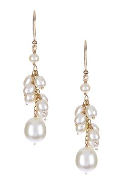 Freshwater Pearl Earrings <3
