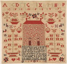 The Metropolitan Museum of Art - Embroidered Sampler.
