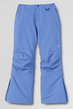 Girls' Waterproof Squall® Snow Pants from Lands' End