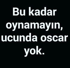 Yok hiç yok✔