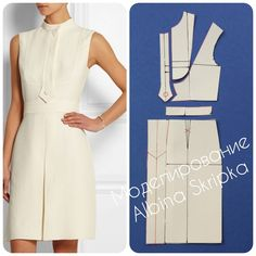 Dress Pattern Easy Womens Ideas For 2019 Dress Sewing Patterns, Clothing Patterns, Model Outfits, Fashion Sewing, Diy Dress, Dressmaking, Pattern Fashion, Vintage Sewing, Diy Clothes