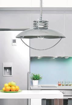 Relco Hanglamp UFO chroom E27 max. 1x 60W | SameLight.eu Ufo, Ceiling Lights, Mirror, Lighting, Furniture, Home Decor, Taps, Decoration Home, Room Decor