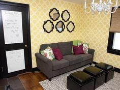 Eclectic Living-rooms from Meg Caswell on HGTV