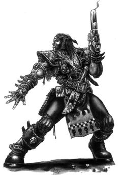 Orlock - Necromunda - Warhammer 40K - GW [by Mark Gibbons]