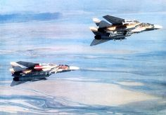 Before the revolution - Imperial Iranian air force F-14 Tomcats. Imperial Iranian Air Force photo