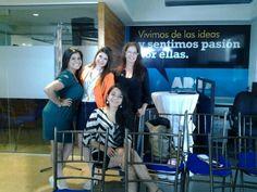 Silvia, Andrea, Mariana y Gladys Preventa Ars 2014