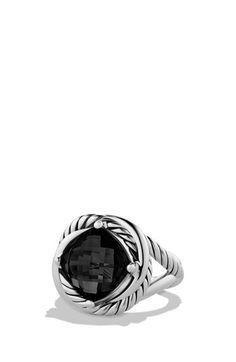 David Yurman 'Infinity' Ring with Semiprecious Stone | Nordstrom