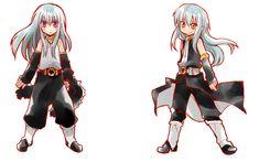 Slime, Blue Hair Anime Boy, Awesome Anime, Anime Stuff, Character Design, Kawaii, Manga, Cute, Black