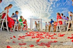 "South Seas Island Resort ""Ceremony Location"" Sunset cove 
