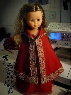 """ANILEGRA COSE PARA NANCY: TUTORIAL PRINCESA NAVIDAD , 2º CONCURSO """"Vestimos a Nancy de Navidad"""""""