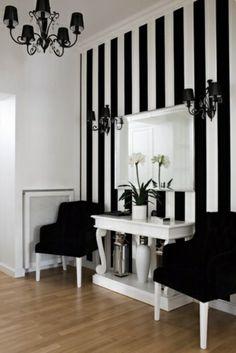 flurgestaltung kombinieren komplementärfarben schwarz