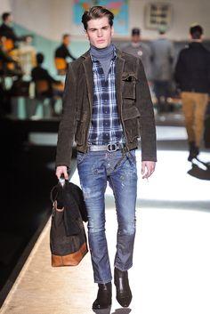 9b4f1215c1e5 Dsquared2 Fall 2012 Menswear Fashion Show