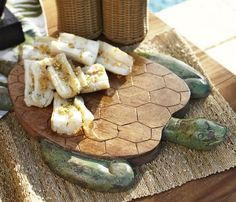 Carved Turtle Cutting Board from Pottery Barn --