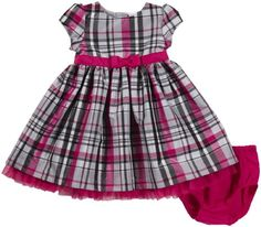Carter`s Baby Girl`s Plaid Dress for only $13.29 You save: $24.71 (65%) + Free Shipping