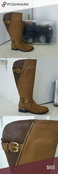 a998ee677fe Tall taupe v-zip croc print boot size 11 Tall taupe v-zip croc print boot  size 11 Extreme by Eddie Marc Shoes Winter   Rain Boots