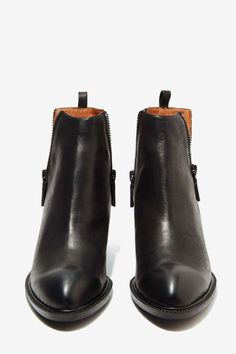 Jeffrey Campbell Boone Leather Bootie