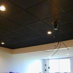 Black Drop Ceiling Tiles 22