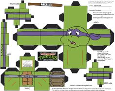 Tortugas Ninja / Ninja Turtles - Manualidades a Raudales Ninja Party, Ninja Turtle Party, Turtle Birthday, Cartoon Faces, Cartoon Art, Imprimibles Toy Story Gratis, Leonardo Tmnt, Wolf Character, Prime Movies