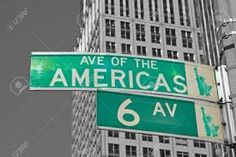 Travel With MWT The Wolf: World Famous Streets Avenue of the Americas New Yo...