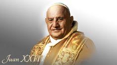 El Papa Juan XXIII concova al Concilio Vaticano II; donde por primera vez desde el Concilio de Trento, la Iglesia Católica da una declaración sobre las imágenes religiosas. Papa Juan Pablo Ii, Juan Xxiii, Cristiano, Catholic, Concilio, St John Paul Ii, Saints, San Juan, Religious Pictures