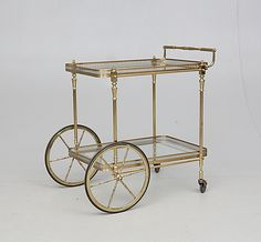 SERVERINGSVAGN, 1900-talets andra hälft. Möbler - Övrigt – Auctionet