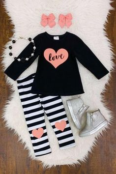 Check out our stylish newborn baby jeans, inclusive of lovely vests and woolens available. Little Girl Outfits, Kids Outfits Girls, Cute Outfits For Kids, Toddler Girl Outfits, Pink Long Sleeve Tops, Black Long Sleeve Shirt, Baby Girl Fashion, Kids Fashion, Toddler Fashion