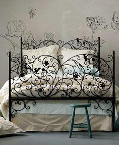 Lit design romantique