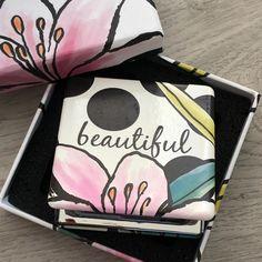 Secret garden 'beautiful' compact mirror with gift box Bridesmaid Presents, Compact Mirror, Garden S, Mirrors, Lunch Box, Handbags, Gift Ideas, Gifts, Travel