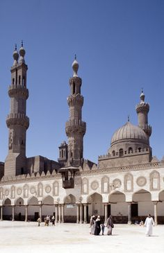 The Al-Azhar mosque is one of the gems of Cairo's Islamic district