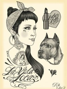 Lowrider Art Girls | brown pride on Tumblr