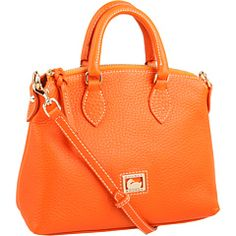 My search for the perfect orange purse might be over - Dooney