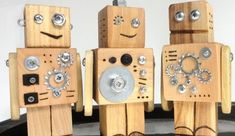 Wood toy robots robot toy set Robots-jouets bois robot jouet jeu More The post Wood toy robots robot toy set appeared first on Wood Ideas. Woodworking For Kids, Woodworking Crafts, Woodworking Bandsaw, Wooden Crafts, Diy And Crafts, Wooden Diy, Diy For Kids, Crafts For Kids, Wood Projects For Kids