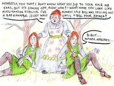 Wrong Twins, Molly... by noleme.deviantart.com on @deviantART Harry Potter vs. Lord of the Rings