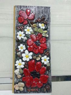 @erenXart #art #pebble #stoneart #flowers #taşboyama