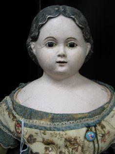 antique dolls | Maida Today: Antique Papier Mache Dolls