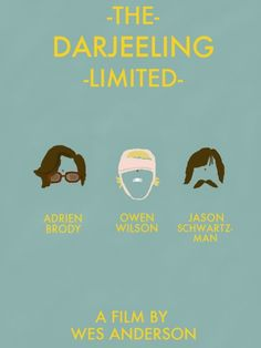 The Darjeerling Limited - Except for an uncomfortable naughty part cameod by Natalie Portman, it was a HILARIOUS film. (And except for the one sad part with the kids. That wasn't funny, at all.) Masterful!