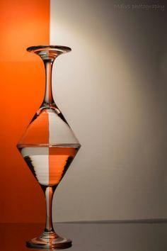Bottoms up! Playfull glasswork