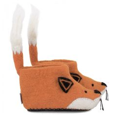 Sew Heart Felt Orange Finlay Fox Slippers (depending on how easy... Fundraiser?? Could modify to make it easy enough)