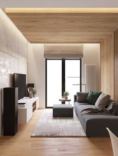 Un departamento confortable en Belarús Condominium Interior, Home Room Design, Living Hall Design, Living Room Design Small Spaces, Hall Design, Narrow Living Room, Condo Living Room, Living Room Design Modern, Modern Apartment Living Room