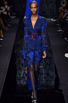 Diane Von Furstenberg Fall 2015. See the whole collection on Vogue.com.
