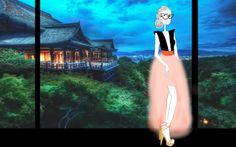 Flavie's fantasy trip to asia !
