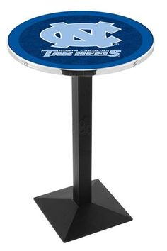 University of North Carolina Square Style-Base Bar Table
