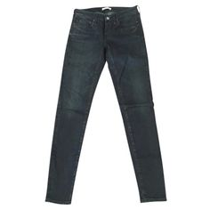 """Levi's Made and Crafted: Pins skinny Jeans Levi's Made and Crafted: Pins skinny Jeans. High quality denim that's made in the USA and washed in Italy. These are partially coated and really cool. The color is called """"black out too"""" which looks like a dark indigo wash. They are w26 L34 and sadly, to long for my short legs. But they are so awesome! They were a gift, so even though their brand new, the original price is not on the tag. Levi's Jeans Skinny"""